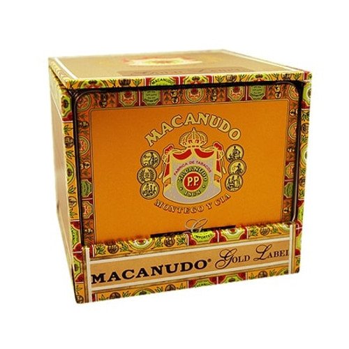 麦克纽杜金标丝巾100支装 Macanudo Gold Label Ascot 10 unit of 100