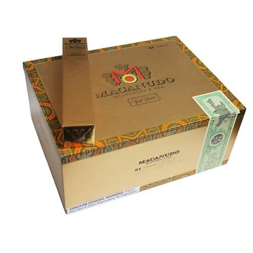 麦克纽杜金标鱼雷21支装 Macanudo Gold Label Torpedo box of 21