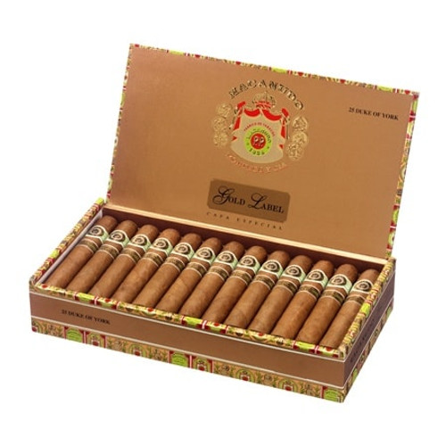 麦克纽杜金标杜克公爵25支装 Macanudo Gold Label Duke Of York box of 25