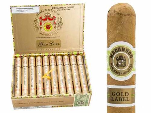 麦克纽杜金标汉普顿法院25支装 Macanudo Gold Label Hampton Court box of 25