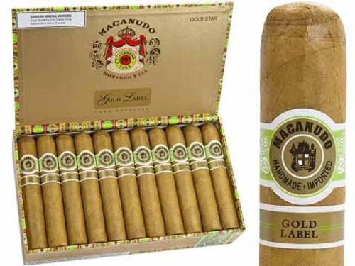 麦克纽杜金标罗伊·尼尔森勋爵25支装 Macanudo Gold Label Lord Nelson box of 25