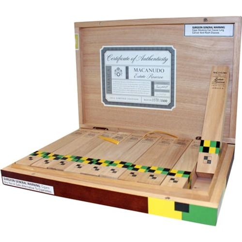麦克纽杜地窖珍藏2014年丘吉尔10支装  Macanudo Estate Reserve 2014 Churchill box of 10