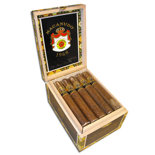 Macanudo 1968 Robusto box of 20