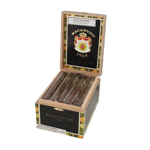 Macanudo 1968 Toro box of 20