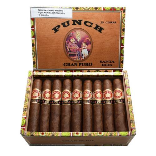 番趣特纯系列圣丽塔10支装(2016年排名第十)   Punch Gran Puro Santa Rita box of 25