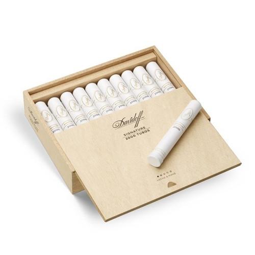 Davidoff Signature 2000 Tubos box of 20 大卫杜夫2000铝管 20支装