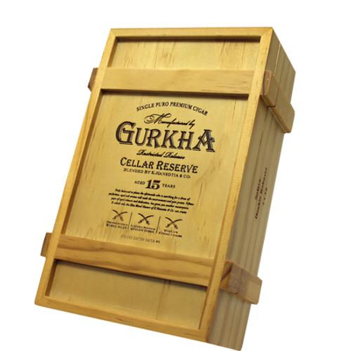 Gurkha Cellar Reserve Solaro-double robusto box of 20
