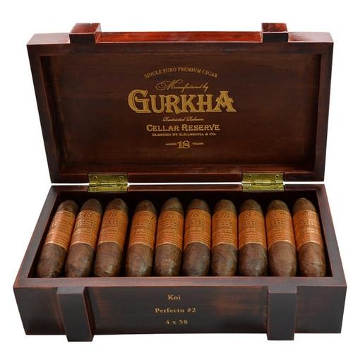 Gurkha Cellar Reserve 18 Year Edicion Especial Koi-perfecto