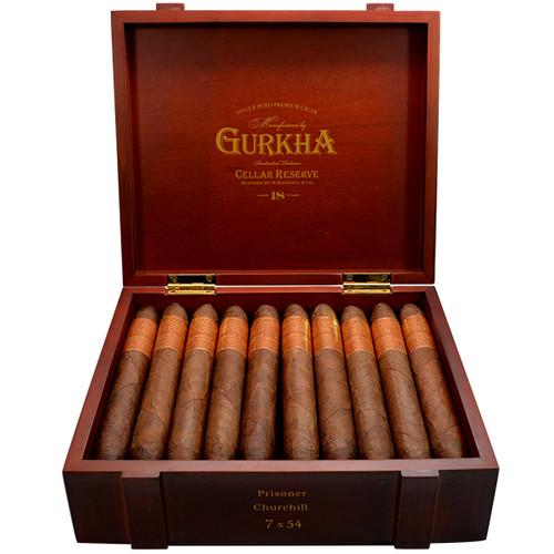 Gurkha Cellar Reserve 18 Year Edicion Especial Prisoner-churchill box of 20