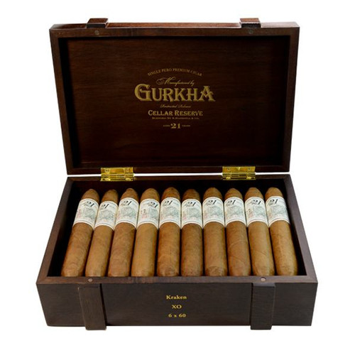 Gurkha Cellar Reserve 21 Year Solara double robusto
