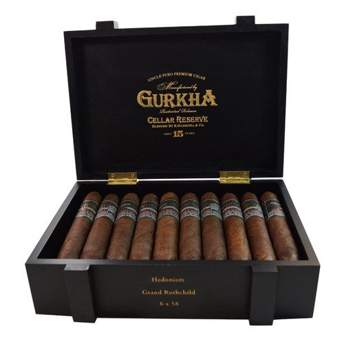Gurkha Cellar Reserve Limitada Hedonism-grand robusto