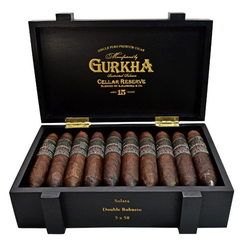 Gurkha Cellar Reserve Limitada Solara-double robusto