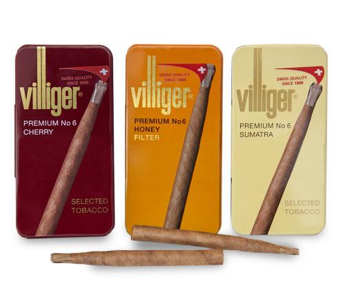Villiger Premium No.6 威利高级手工雪茄6号 50支装