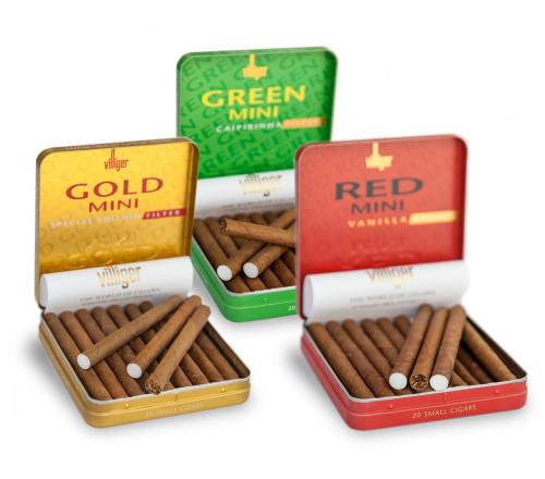 Villiger Mini Color Series 威利迷你雪茄100支装
