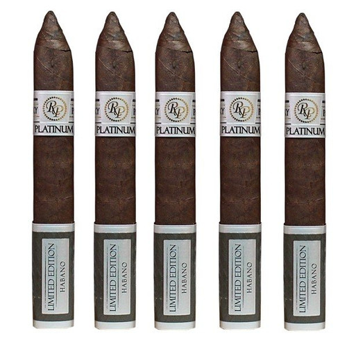 Rocky Patel Platinum Limited Edition Torpedo box of 20 洛基·帕特尔白金限量版鱼雷20支装
