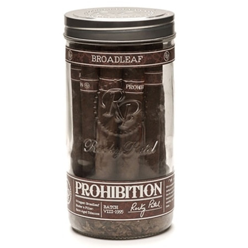 Rocky Patel Prohibition Toro Connecticut Broadleaf jar of 16  洛基·帕特尔禁止斗牛康涅狄格阔叶罐装16支