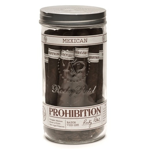 Rocky Patel Prohibition Toro Mexican San Andres jar of 16 洛基·帕特尔禁止斗牛墨西哥圣安德烈斯罐装16支