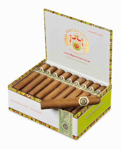 "Macanudo Cafe Gigante (Gordo) (6.0""x60) box of 25  麦克纽杜咖啡巨人25支装"