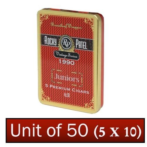Rocky Patel Vintage 1990 Juniors 5 unit of 50  洛基·帕特尔1990老年份少年5盒50支