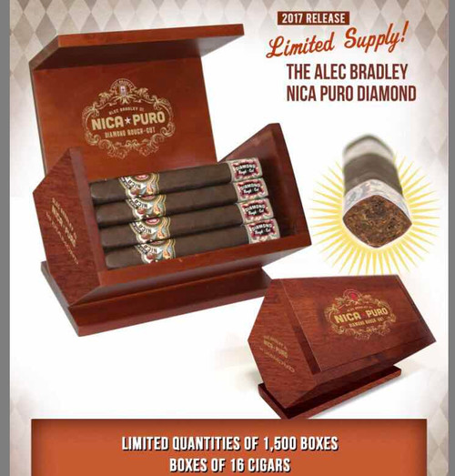 2017 limited edition Nica Puro Diamond Rough Cut