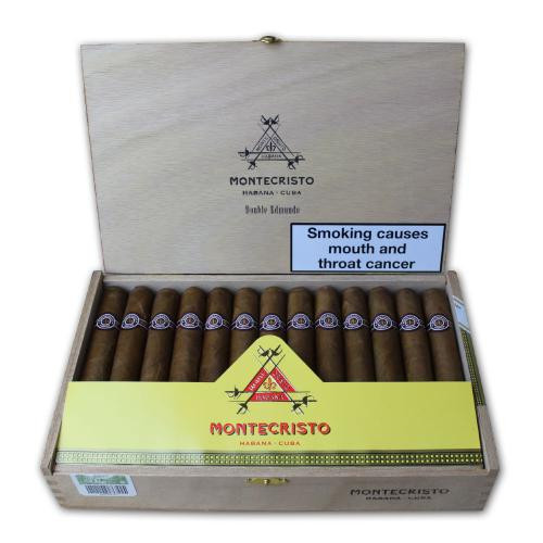 Montecristo Double Edmundo Cigar - Box of 25 蒙特双爱蒙多25支装
