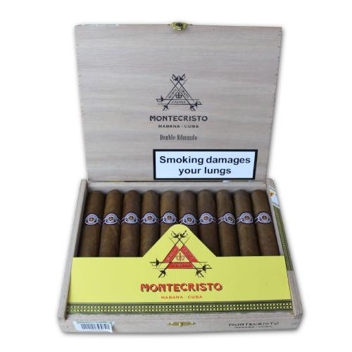 Montecristo Double Edmundo Cigar - Box of 10 蒙特双爱蒙多10支装