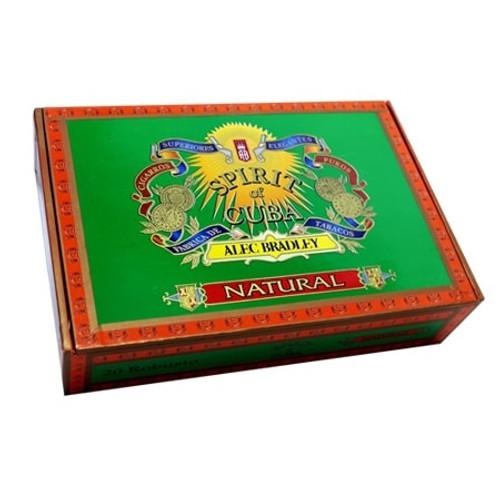 Alec Bradley Spirit Of Cuba Corojo Robusto box of 20   亚历克·布拉德利古巴精神罗布图20支装蓝色