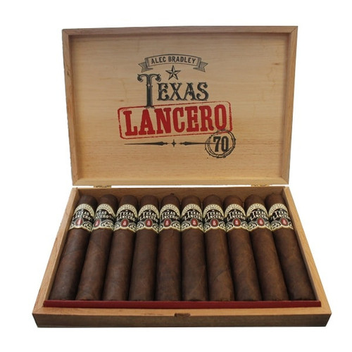 Alec Bradley Texas Lancero 70 box of 10  亚历克·布拉德利德州骑兵 70 10支装