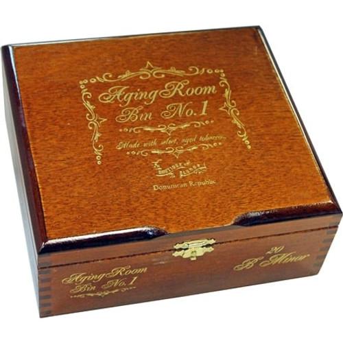 Aging Room Bin No. 1 B Minor-toro box of 20  老化房Bin No.1 B 小公牛20支装