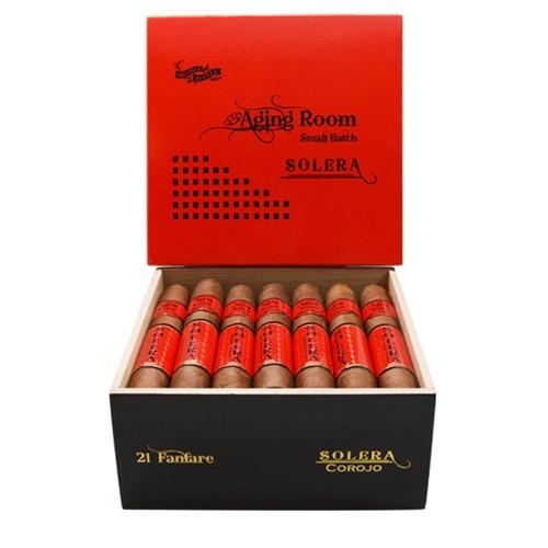 Aging Room Solera Corojo Fanfare - belicoso box of 21  老化房索莱拉棕榈树韧皮乐队鱼雷21支装