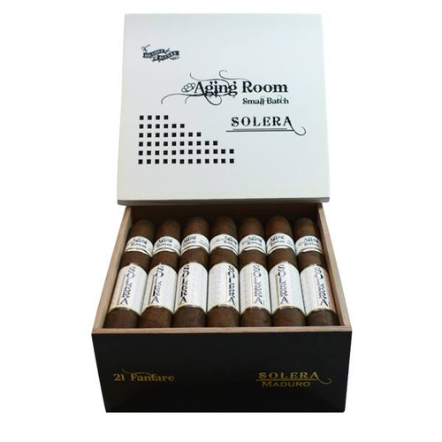 Aging Room Solera Maduro Festivo - robusto box of 21 老化房索莱拉马杜罗节日罗布图21支装
