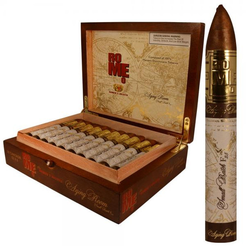 Romeo by Romeo Y Julieta Aging Room Small Batch F25 Cantaor-belicoso box of 20 罗密欧老化房小批量生产合唱鱼雷20支装