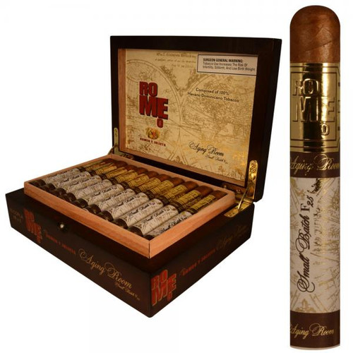 Romeo by Romeo Y Julieta Aging Room Small Batch F25 Copla-robusto box of 20 罗密欧老化房小批量生产F25科普拉罗布图20支装