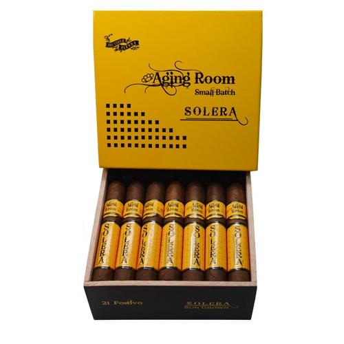 Aging Room Solera Sungrown Festivo - robusto box of 21 老化房索莱拉阳光生长节日罗布图21支装