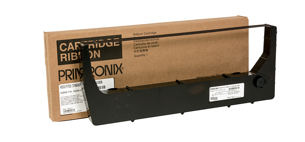 P8000 Standard Life Ribbons 4 pack only 255049-102 Printronix P7000 Single