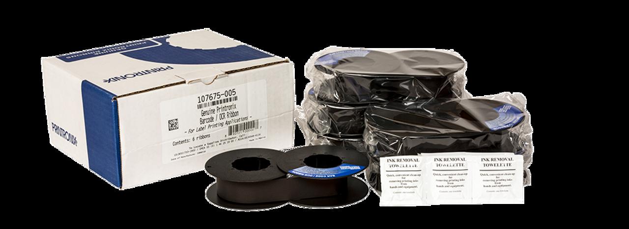 107675-005 NEW GENUINE PRINTRONIX RIBBON BAR CODE // OCR RIBBON