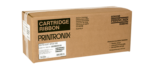 Printronix 255542-401 Specialty Security  Ribbon, 4-Pack (P7000/P8000)