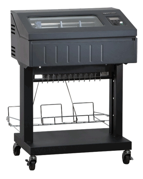Printronix P8010 Line Matrix Printer,  1000lpm, Open Pedestal (P8P10-1111-0)
