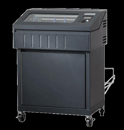 TallyGenicom E6810 Enclosed Pedestal Line Matrix Printer, 1000LPM (E6810 -1110)