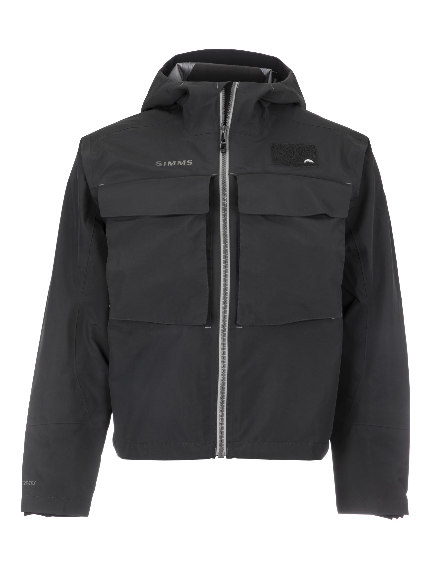 Simms Men's Guide Classic Wading Jacket - Carbon