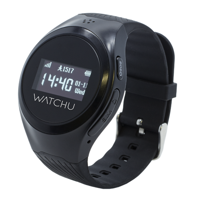 Powered by CPR - WATCHU Guardian specially designed for vulnerable adults of all ages. SOS emergency assist puts the wearer in contact with a pre-approved contact. Set Geo-zones to receive text alerts when the wearer enters or leaves a location. Location tracking that updates every 60 seconds.