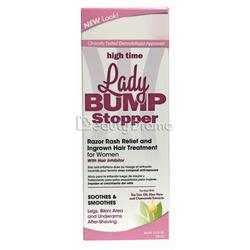 High Time Lady Bump Stopper Razor Rash Relief & Ingrown Hair Treatment