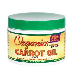 Africa's Best Carrot Oil Cream 7.5 oz