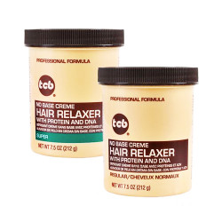 TCB No Base Creme Hair Relaxer with Protein and DNA