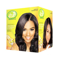 TCB Naturals Argan Oil No Lye Relaxer Kit, 1 Application