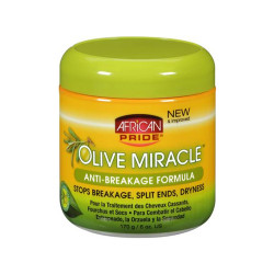 African Pride Olive Miracle Anti-Breakage Formula 6 oz