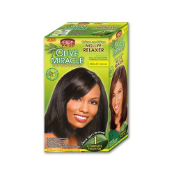 African Pride Olive Miracle No-Lye Relaxer 1 Complete Touch up