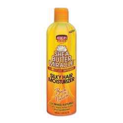African Pride Shea Butter Miracle Silky Hair Moisturizer 12 oz