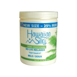 Hawaiian Silky Creme Conditioning No Lye Relaxer 20 oz