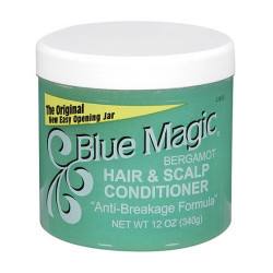 Blue Magic Bergamot Hair and Scalp Conditioner 12 oz
